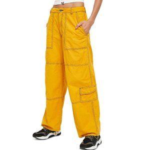 Free People Calendula Wide Leg Cargo Pants. 6